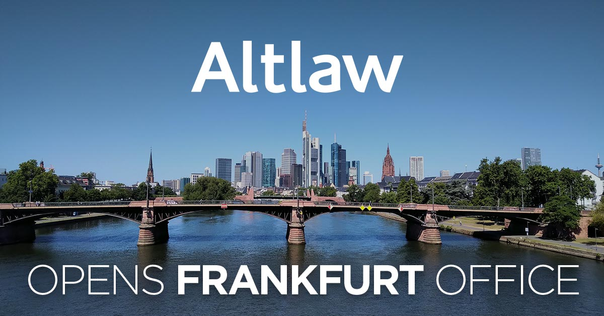 Altlaw opens Frankfurt office