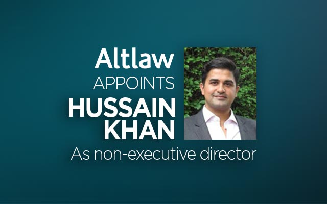 Hussain Khan joins Altlaw
